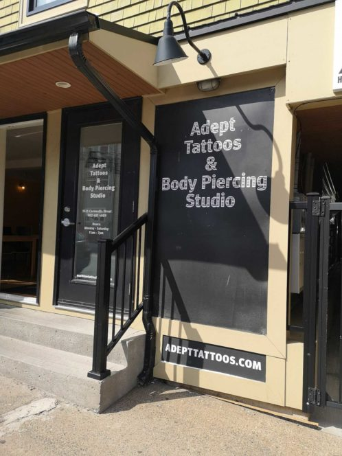 Adept Tattoos & Body Piercing Halifax